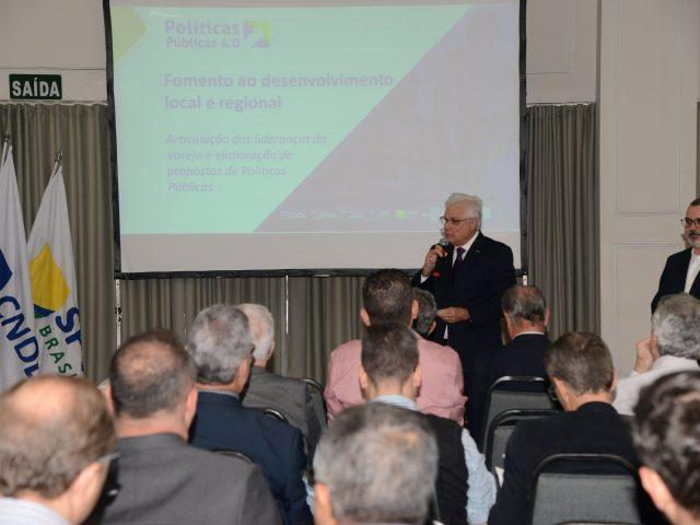 Lideranças do Sistema CNDL em Minas Gerais debatem políticas públicas para o varejo em encontro do PP 4.0