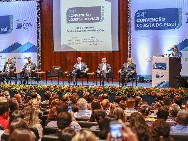 Palestra do PP 4.0 na programação da 24ª Convenção Lojista do Piauí trata o papel do empresário da melhoria do ambiente de negócios